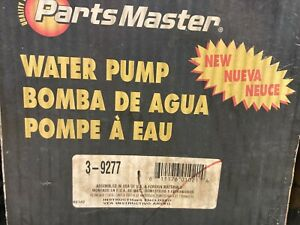 Fits Ford Focus WATER PUMP 2.0L 00-04 timing belt driven 3-9277 NEW PartsMaster