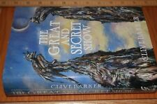 CLIVE BARKER THE GREAT AND SECRET SHOW ✎SIGNED✎LIMITED OUT-OF-PRINT