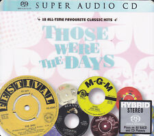 """""""Those Were The Days Vol.1"""" 18 All-Time Classic Hits Stereo Hybrid DSD SACD CD"""