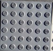 PVC Peel & Stick Tactile Indicator ground surface Self Adhesive Pad LIGHT GREY