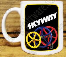 300ml COFFEE MUG, SKYWAY WHEELS