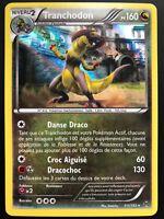 Carte Pokemon TRANCHODON 111/162 HOLO XY8 Impulsion TURBO FR NEUF