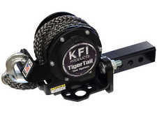 "KFI TigerTail Tow System ATV UTV 2"" Receiver Hitch Mount Retractable w/ 12' Rope"