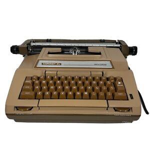 1981 Smith Corona Coronet XL Blue-Green Electric Typewriter Model 6E
