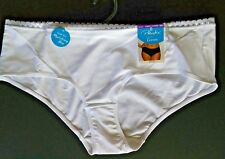 PLAYTEX LOVE MY CURVES SMOOTH CHEEKY HIPSTER SIZE 2-XL WHITE WOMEN'S #PSCHHL NWT