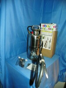 CLICIC STAINLESS STEEL SHOULDER SPRAYER PROFESSIONAL W/BACKPACK 1.5 GALLON