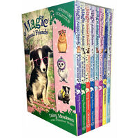 Magic Animal Friends 3,4 Collection 8 Books Box Set By Daisy Meadows New Pack