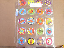 DOODLEWONKERS BY STACK N SMACK  POGS/MILKCAPS COMPLETE SET OF (36) SHEETED