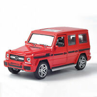 1:32 G65 AMG Die Cast Modellauto Auto Spielzeug Model Sammlung Rot Ton Licht
