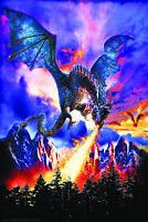 DRAGON FIRE - FANTASY ART POSTER 24x36 - 3179
