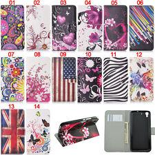 Butterfly Heart Wallet Leather Flip Case Cover For Huawei Y550 Y360 Y3 Y5 Y6 II