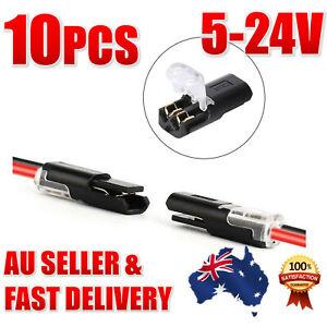 10 PCS 12V connectors Electrical connectors Automotive Wire strip light Cable