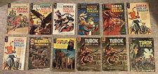 Lot of 12 Jungle Comics - Jungle Twins, Korak, Korg, Maya, Turok