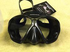 New listing Atomic Aquatic Subframe Arc Mask - Scuba Diving - Black Skirt