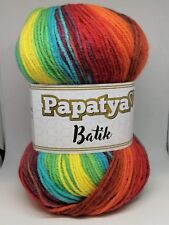 Rainbow Swirl Gradient Batik Yarn 100g wool crochet knitting DK acrylic