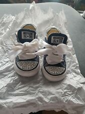 Baby converse with sparkles
