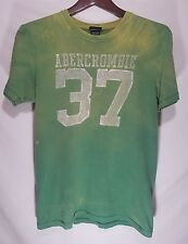 Unique Abercrombie & Fitch Men's T-Shirt / Size Small / Lemon Lime Green