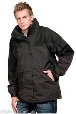Vestes et manteaux noir pour la pêche
