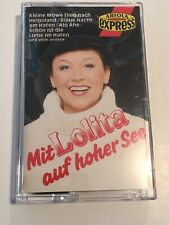 With Lolita On The High Seas Rare Ariola Express Music Cassette German Language