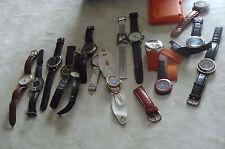 armbanduhren konvolut 15 stück, davon 4 in funktion, sind top uhren dabei