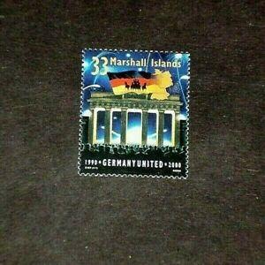 MARSHALL ISLANDS, 1990, GERMANY UNITED, SINGLE,  MH, NICE! LQQK!