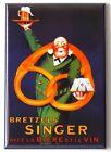 Beer and Pretzels FRIDGE MAGNET poster