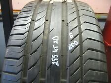 255/45/20 Continental ContiSportContact5 AO tyre 6.6 - 7 mm 255 45 20