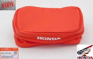 HONDA TAIL BAG RED  XR250L XR250R XR600R XR650L OEM GENUINE NEW 83501-MY6-A90