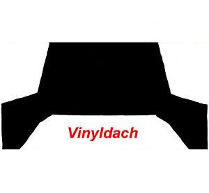 VINYLDACH FÜR OPEL KADETT C LIMOUSINE 2-TÜRER OHNE SCHIEBEDACH / NEUWARE
