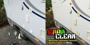 CARA CLEAN- Restore Yellowed Caravan and Motorhome Vents / Covers Back to White