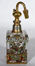 Antique French Enameled Perfume Atomizer Made in France - Sax Kay Detroit Paris