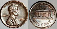 1966 - NICKEL SIZE OFF CENTER BROADSTRUCK - LINCOLN CENT MAJOR MINT ERROR #8712