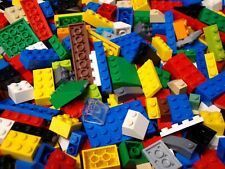 Bulk Lego Lot 100 Basic Legos: Bricks Blocks Plates Slopes Mixed Sizes & Colors
