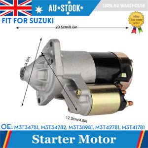 Starter Motor Fit for Suzuki Carry Van eng. G13B 1.3L 1999-2005