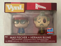 Max Fischer + Herman Blume - Rushmore - Funko Double Pack - 2018 Limited Edition