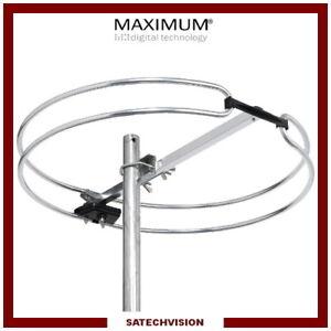 Antenne Radio FM Omnidirectionnelle Extérieur 87,5 - 108 MHz Maximum FM1