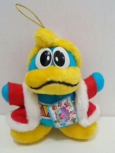 """Rare Kirby Dream Land King Dedede Takara 1993 Plush 6"""" TAG Japan"""
