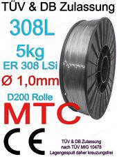 V2A 308L Edelstahl 1.4316 MT-308L Edelstahl Schweißdraht 1,0mm 5kg Welding Wire