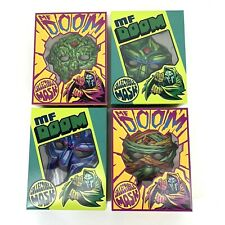 Mf Doom Limited Edition Collectible Mask Complete Set of 4 Sold out Rhymesayers