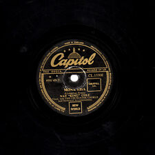 NAT KING COLE 78  MONA LISA / BABY WONT YOU SAY YOU LOVE ME  CAPITOL CL13308 V+