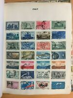 CMO26) Italy Collection early to modern mostly postally used