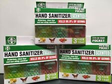 9 x 1st Care Travel Hand Sanitizer 18ml Antibacterial, KILLS 99.9% OF GERMS NEW