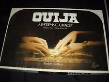 OUIJA BOARD GAME PARKER BROTHERS 1972 MYSTIFYING ORACLE WILLIAM FULD