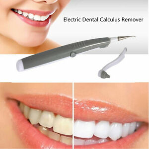 Electric tooth cleaner for stain removal Dentals Clean Calculus Remover Tool