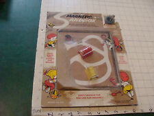 vintage MAGNETIC SANDBOX toy, used but has the magnet or magic power button 1967