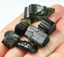 74.7Ct Nigerian Natural Green Tourmaline Crystal Facet Rough Specimen YNR28