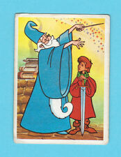 Merlin the Magician Walt Disney Scarce 1981 Cartoon Card from Spain