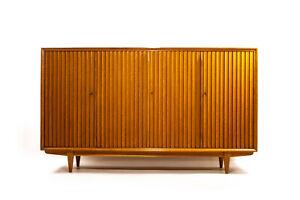 Sideboard Schrank Kommode Highboard Leo Bub Nussbaum Mid Century 50er