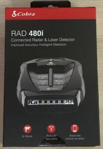 Brand New Sealed Cobra RAD 480i Radar Detector - Black (H4)