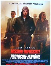 Mission Impossible 4 / Ghost Protocol Poster Cinema/Movie to Be Sent Tom